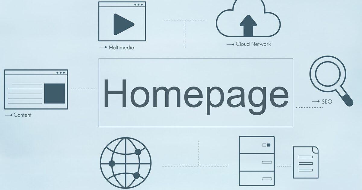 ホームページ概略図