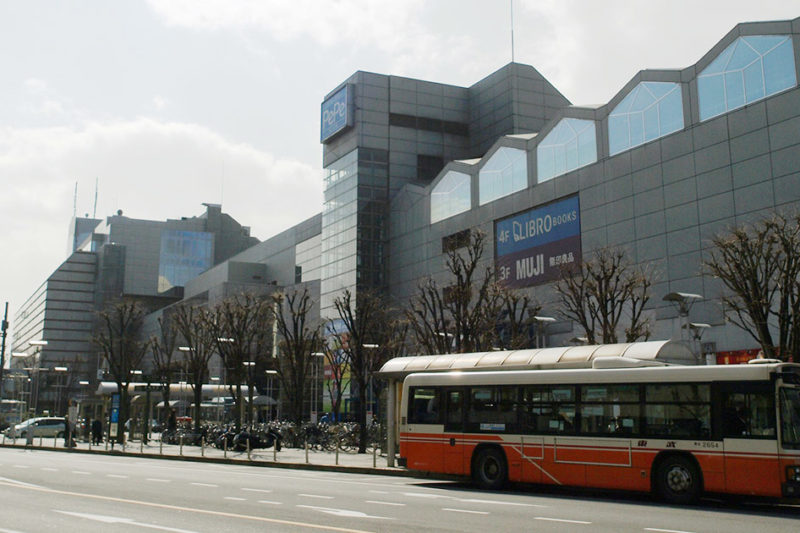 西武新宿線本川越駅の駅ビル